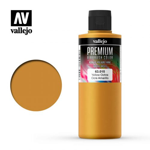 Premium Airbrush Color Vallejo Yellow Ochre 62015
