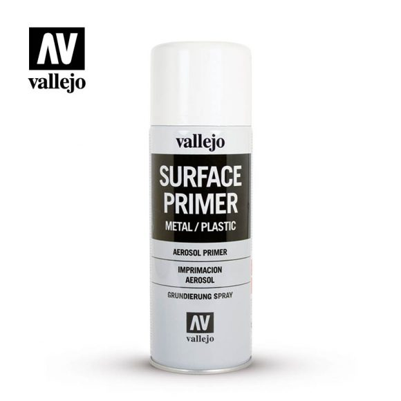Vallejo Surface Primer aerosol white 28010
