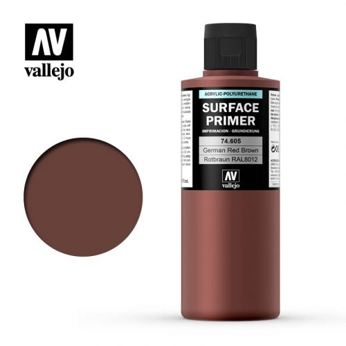 vallejo surface primer german red brown 74605 200ml