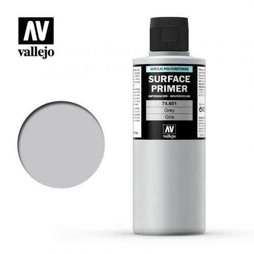 vallejo surface primer grey 74601 200ml