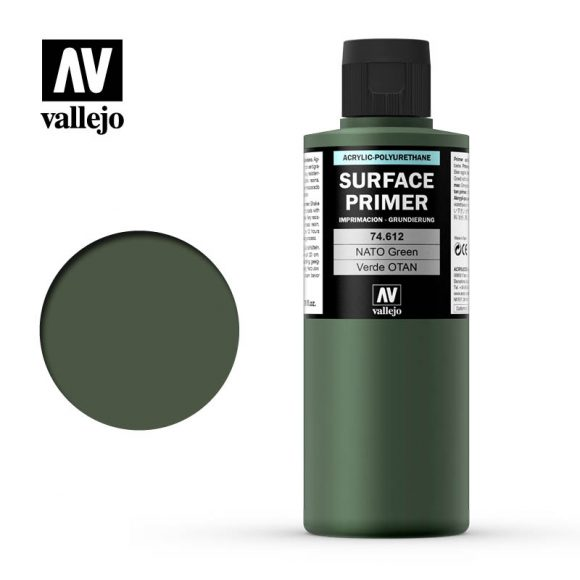 vallejo surface primer nato green 74612 200ml