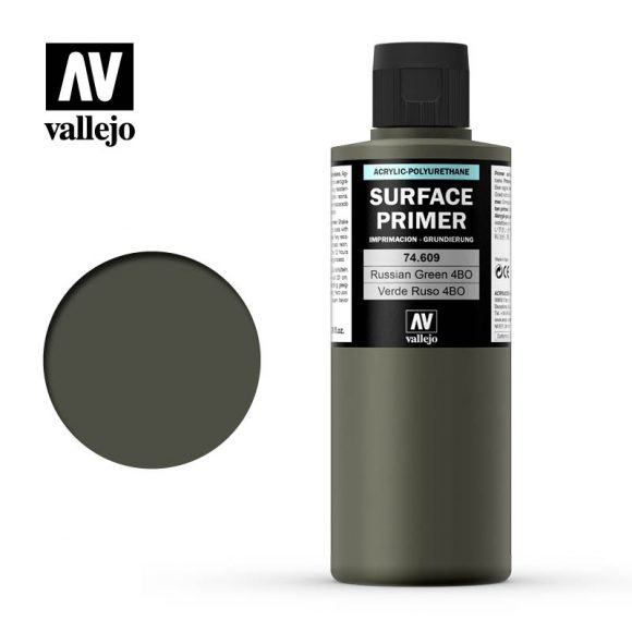 vallejo surface primer russian green 4bo 74609 200ml