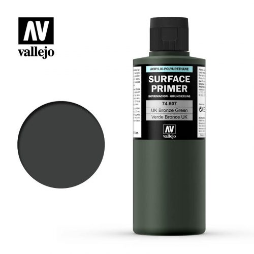 vallejo surface primer uk bronze green 74607 200ml