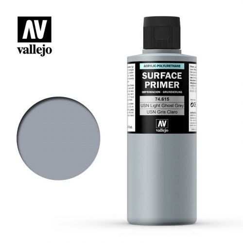 vallejo surface primer usn light ghost grey 74615 200ml