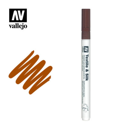 vallejo textile marker brown 214