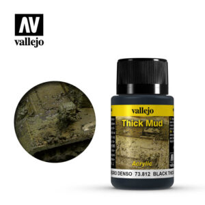vallejo weathering effects black thick mud 73812