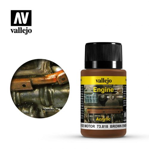 vallejo weathering effects brown engine soot 73818