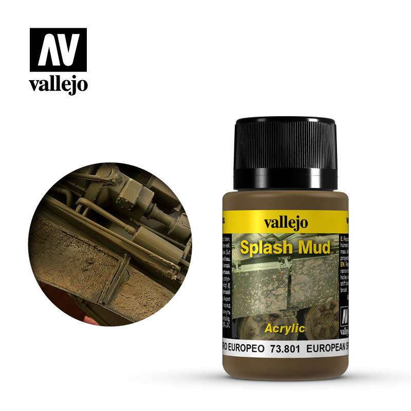 vallejo weathering effects european splash mud 73801