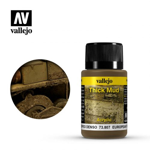 vallejo weathering effects european thick mud 73807