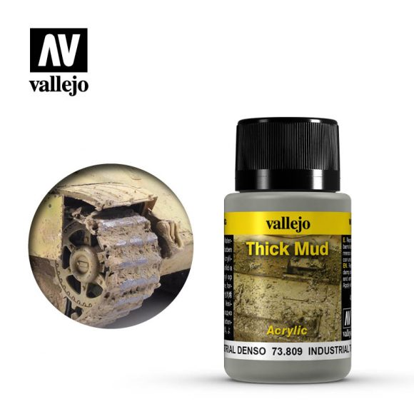 vallejo weathering effects industrial thick mud 73809