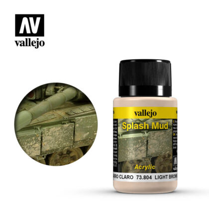 vallejo weathering effects light brown splash mud 73804