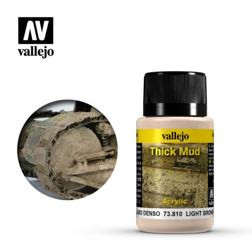 vallejo weathering effects light brown thick mud 73810
