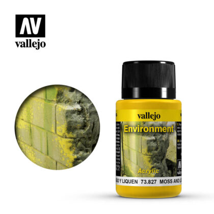 vallejo weathering effects moss and lichen 73827