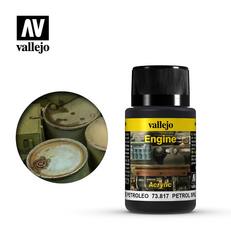 vallejo weathering effects petrol spills 73817