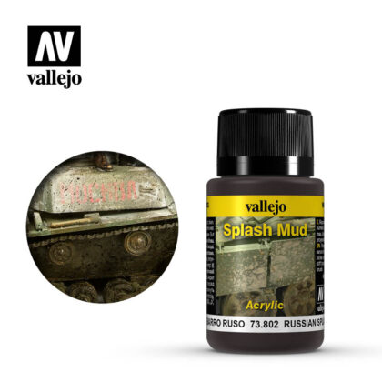 vallejo weathering effects russian splash mud 73802