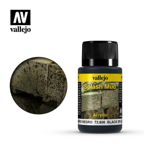 vallejo weathering effects wet black splash mud 73806