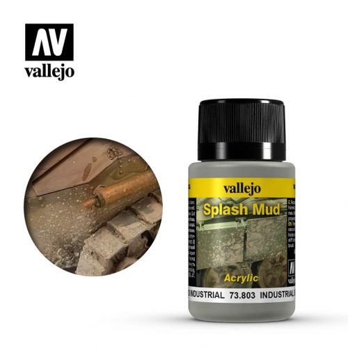 vallejo weathering effects wet industrial splash mud 73803