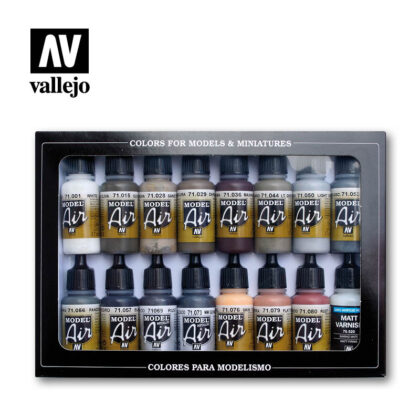 Weathering set 71194 vallejo model air effects set