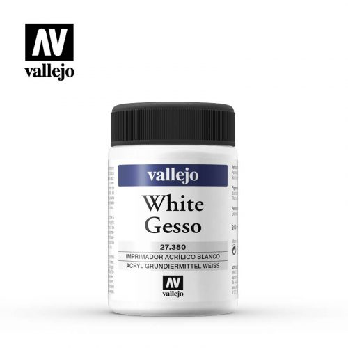 white gesso vallejo 27380 240ml