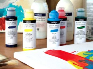 Acrylic Artist Fluid Color