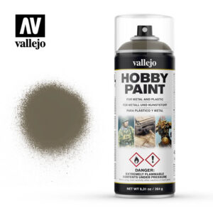 vallejo hobby spray paint 28007 russian uniform