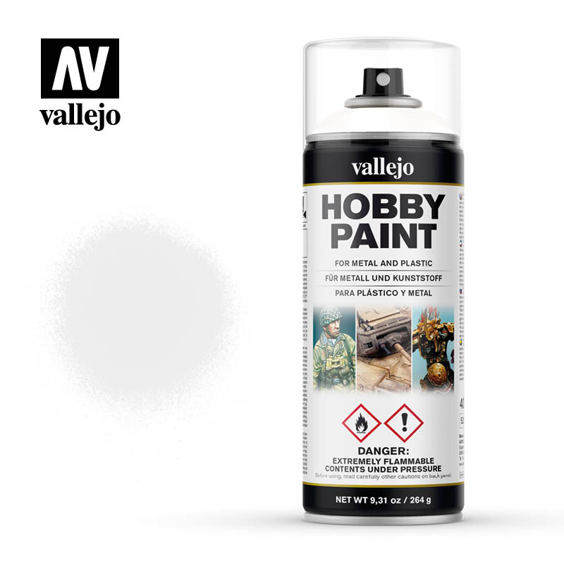 vallejo hobby spray paint 28010 white