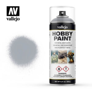 vallejo hobby spray paint 28021 silver