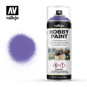vallejo hobby spray paint 28025 alien purple