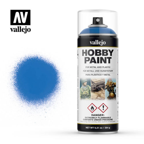 vallejo hobby spray paint 28030 magic blue