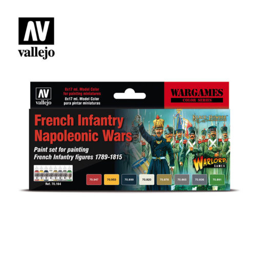 Vallejo Wargames French Infantry Napoleonic Wars 70164 Front