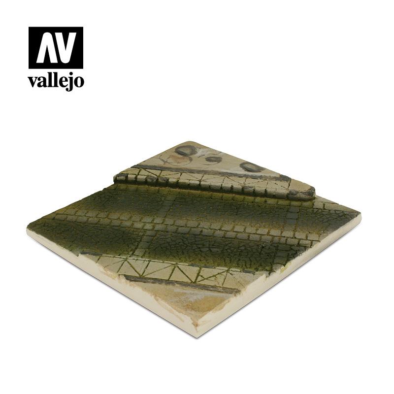 Vallejo Scenics Paved street section SC001