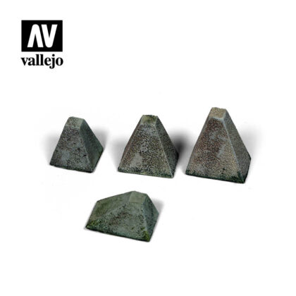 Diorama Accessories Vallejo Scenics Höckerhindernis Type 38 SC218