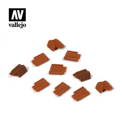 Diorama Accessories Vallejo Scenics Roof Tiles Set SC229
