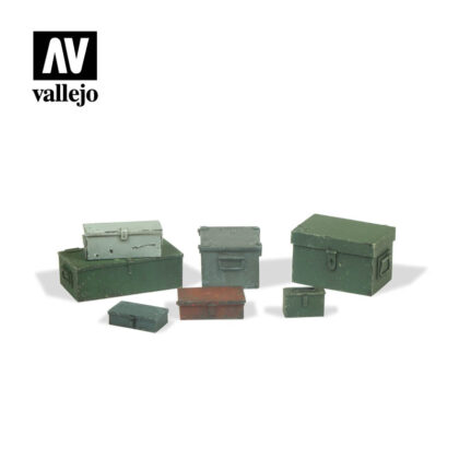 Diorama Accessories Vallejo Scenics Universal Metal Cases SC223