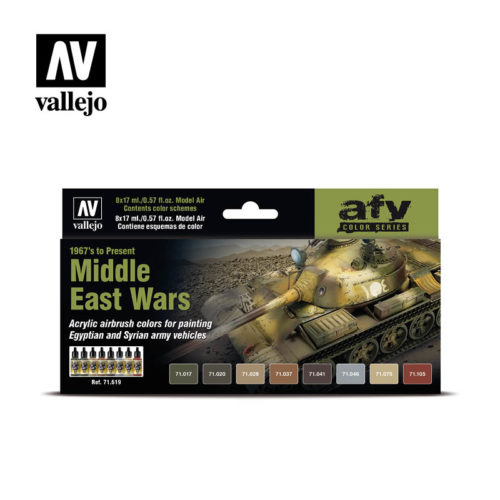 Middle East Wars Vallejo AFV 71.619