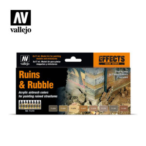 Ruins & Rubble Vallejo Effects set 71214