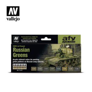 Russian Greens Vallejo AFV 71613