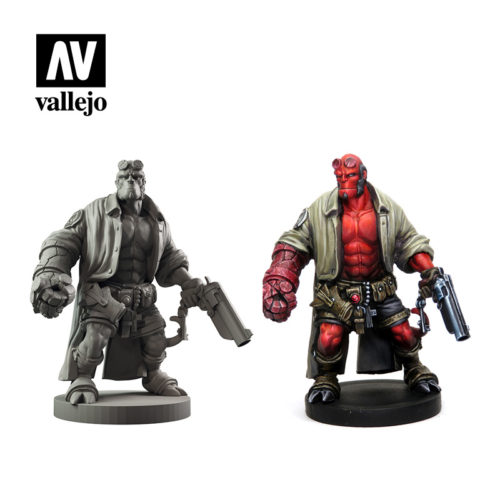 Hellboy 70187 Vallejo Mantic License Paint Set Miniature