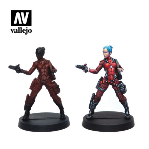Nomads 70233 Vallejo Infinity License Paint Set Miniature