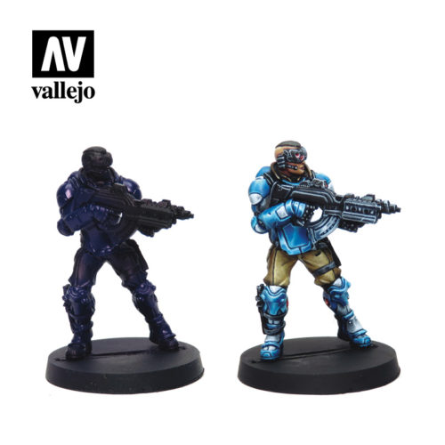 Panoceania 70231 Vallejo Infinity License Paint Set Miniature