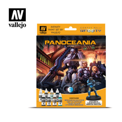 Panoceania 70231 Vallejo Infinity License Paint Set Front
