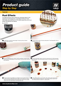 Vallejo Rust Effects step by step