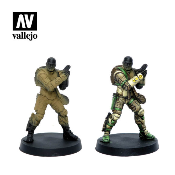 Figuras Haqqislam 70237 vallejo infinity license paint set