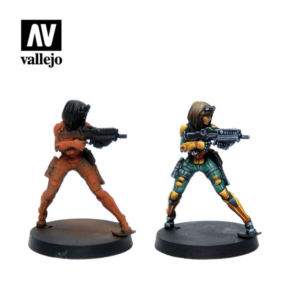 Figuras Yu Jing 70235 vallejo infinity license paint set