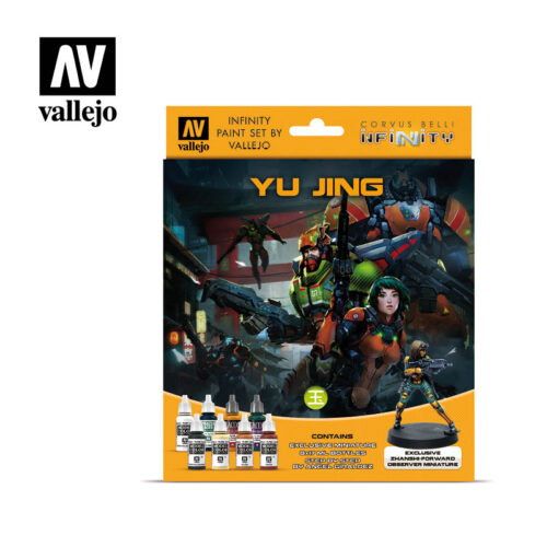 yujing 70235 vallejo infinity license paint set