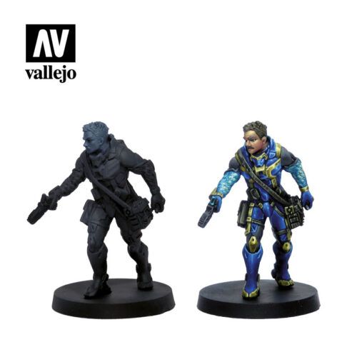 Figuras O-12 70239 vallejo infinity license paint set