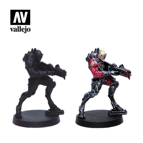 Figuras shasvastii 70241 vallejo infinity license paint set