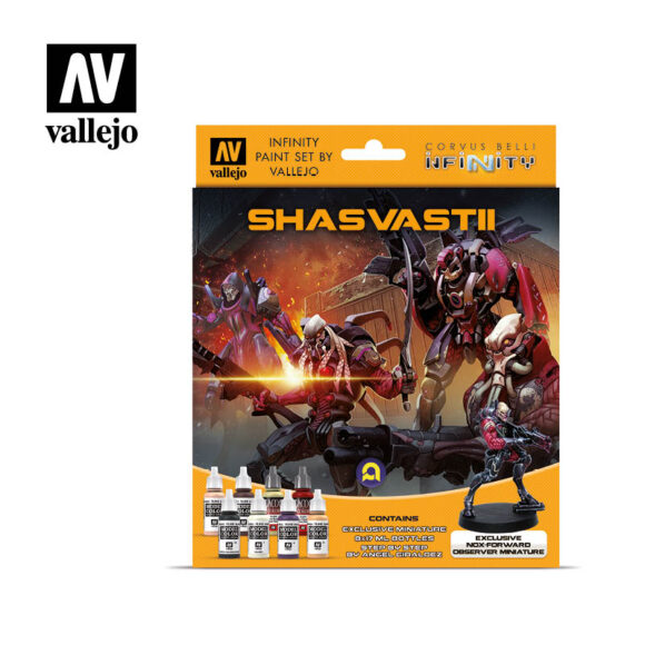 Shasvastii 70239 Vallejo Infinity License Paint Set Front