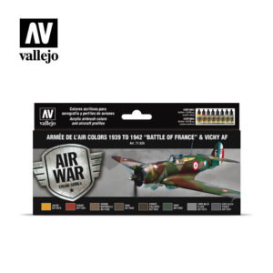 Armée de L'Air Colors 1939-1942 Battle of France & Vichy AF Vallejo Airwar 71626