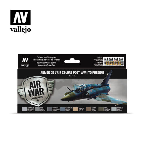 Armée de L'Air Colors Post WWI to Present Vallejo Airwar 71627